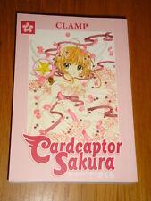 CARDCAPTOR SAKURA CLAMP DARK HORSE BOOK 4 ART + STORY MANGA