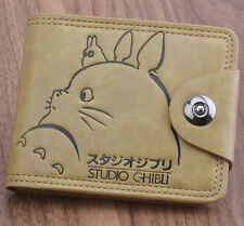 Anime Studio Ghibli Totoro Wallet Purse Bag Handbag Holder Button Layered Kawaii