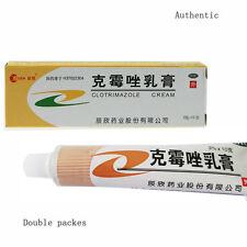 2x10g/tube Clotrimazole Cream 3% for Tinea and Antifungal 2017.10