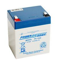 Power sonic 12V 4.5 ah batterie rechargeable nouveau