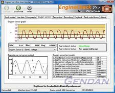 EngineCheck Pro Software for ELM327 EOBD Engine scanner