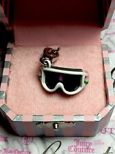 JUICY COUTURE 2009 Ski Goggles Snowboard Charm in Box