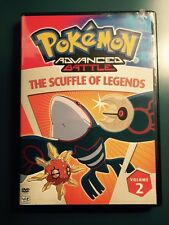 Pokemon Advanced Battle The Scuffle of Legends-Volume 2-DVD Excellent Condition