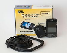 Pixel LV-W1 Wireless Live View Remote Canon