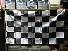 "Checkered Racing Flag Banners New 35"" x 60"" IndyCar Indy 500 Nascar USAC F-1"