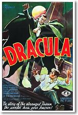 Dracula 1931 - Bela Lugosi - Movie Poster - Vintage Reprint - NEW POSTER