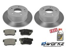 Honda Accord Type R CH1 2.2 Rear Brake Discs & Pads 98-03 CH1 *FREE BRAKE FLUID*