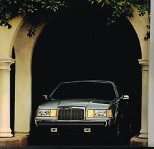 BIG 1984 LINCOLN Brochure/Catalog:MARK VII,7,CONTINENTAL,TOWN CAR,LSC,BLASS,LIMO