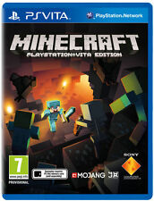 Minecraft: PlayStation Vita Edition (Sony PlayStation Vita, 2014)