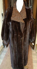 BRAND NEW DARCK RANCH MINK & PERSIAN LAMB FUR COAT WOMEN WOMAN SIZE 16-18 XXL
