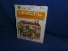 Vintage GE Show'N Tell The Wizard of Oz Picturesound Program c1969