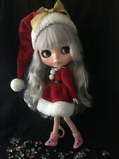 "12"" Neo Blythe Doll  Doll  from Factory Includes Christmas  Outfit  & Shoes J009"