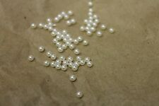 3mm Floating Charm Pearls for Memory Locket or Origami Owl/Crafts Set of 8 Pcs.
