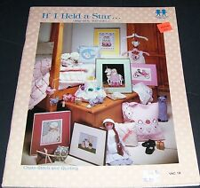 COUNTED CROSS STITCH PATTERN LEAFLET BOOK IF I HELD A STAR VANESSA ANN VAC18