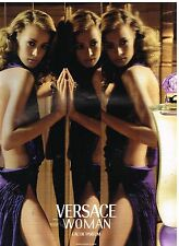 Publicité Advertising 2001 Parfum Versace Woman
