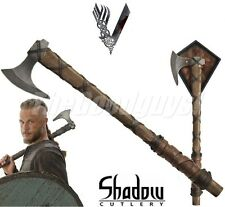 Vikings - AXE OF RAGNAR LOTHBROK - Standard Edition (Licenced) SH8000 NEW