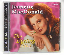 Jeanette MacDonald: The Darling Diva ~ NEW CD (2002, Collectors' Choice Music)