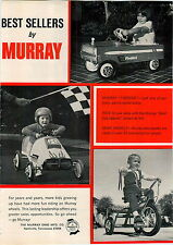 1969 ADVERT Murray Toy Pedal Car Firebird Gold Cup Special Race Racer Cars