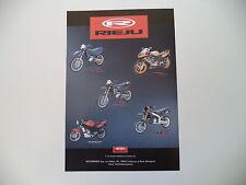 advertising Pubblicità 2005 RIEJU MRX 125/RS2 MATRIX 50/NKD 50/SMX 50