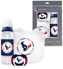 Houston Texans Infant Baby Fanatic Gift Set Bottle Bib Pacifier BPA Free NFL