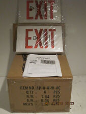 ASTRALITE LED EXIT LIGHT EMERGENCY TP-U-R-W-EM NEW IN BOX-FREE SHIPPING(BNIB)!!!
