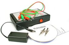 "Static Grass l'applicatore del flockbox ""FUSION"" Electrostatic FLOCCAGGIO MACCHINA"