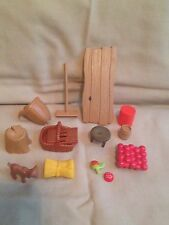 Playmobil lot-DollHouse Furniture Medieval Castle barn accessories miniatures