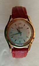 NIVADA AQUAMATIC 17 Rubis-Gold Plated- Self Winding- 32mm Dress Watch- Near Mint