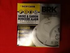 FIRST ALERT SC9120B SMOKE & CARBON M0NOXIDE ALARM WITH BATTERY BACKUP 120V AC