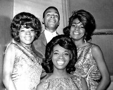 "Martha and the Vandellas / Marvin Gaye 10"" x 8"" Photograph"