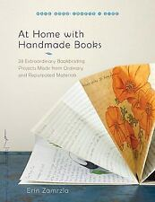 At Home with Handmade Books: 28 Extraordinary Bookbinding Projects Mad-ExLibrary