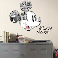 Disney MICKEY MOUSE COMICS wall stickers MURAL 4 decals Clubhouse room decor
