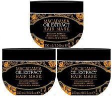 Macadamia Natural Oil Extract Hair Treatment Mask 250ml - Exclusive Ingredients