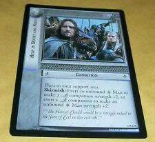 LOTR TCG TTT RARE CARD - 4R124 HELP IN DOUBT AND NEED