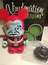 "Zombie Cowboy w Hat 3"" Vinylmation Urban Redux Series #1 Red"