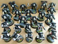 2006 space marines black templiers terminators citadel pro painted warhammer 40K