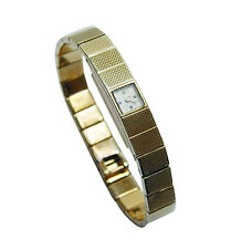 VACHERON & CONSTANTIN Vintage Ladies Bracelet Watch 18K Gold 27gr Estate Jewelry