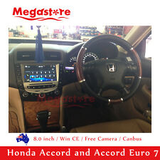 "8"" Honda Accord/Euro 2003 -2007 Car DVD GPS Stereo Player Head Unit dual air"