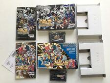 SUPER ROBOT WARS A & Original Generation  set Nintendo Game Boy Advance JP D5784