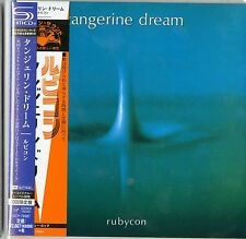 TANGERINE DREAM-RUBYCON-JAPAN MINI LP SHM-CD Ltd/Ed G00