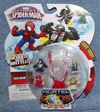 MARVEL ULTIMATE SPIDER-MAN SERIES 1 FIGHTER PODS 4 PACK SET #4
