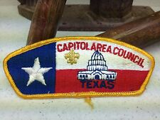 CAPITOL AREA TEXAS  BOY SCOUT OF AMERICA PATCH
