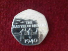 2015  THE BATTLE OF BRITAIN FIFTY PENCE PIECE