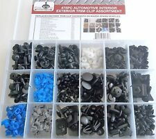 475pc MAZDA TRIM CLIP RETAINER PANEL BUMPER BODY FASTENER ASSORTMENT TCA475