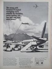 2/1969 PUB AC ELECTRONICS GM CAROUSEL IV INERTIAL NAVIGATOR AIRLINER ORIGINAL AD