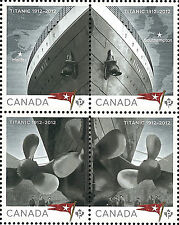 Canada Stamp, 2012 CAN1208 Titanic 1912-2012, Ship, Transportation, Movie