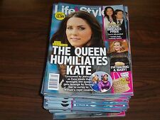 2012 JULY 16 LIFE & STYLE MAGAZINE LOT OF 60 ISSUES - KATIE HOLMES COVER - M 588