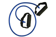 HEAVY Resistance Exercise Band Stretch Tube Fitness Pilates Sport 6030H BLUE