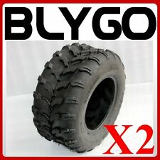 "2X QIND 4PLY 20X10-10"" inch Rear Back Tyre Tire 250cc Quad Dirt Bike ATV Buggy"
