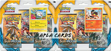POKEMON SUN AND MOON TRIPLE BOOSTER BLISTER PACKS SM1 (X2) - LITTEN & TOGEDEMARU
